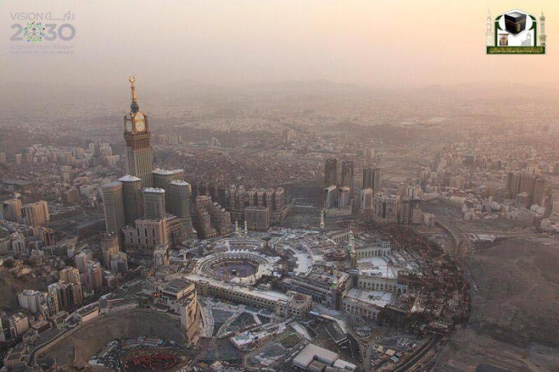 جوية للمسجد الحرام 12