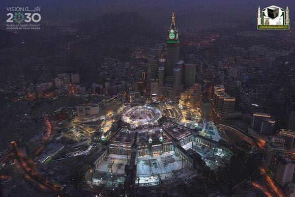 جوية للمسجد الحرام 3