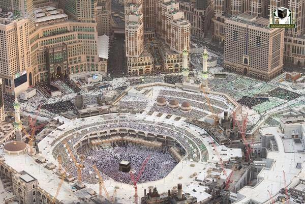 جوية للمسجد الحرام 6
