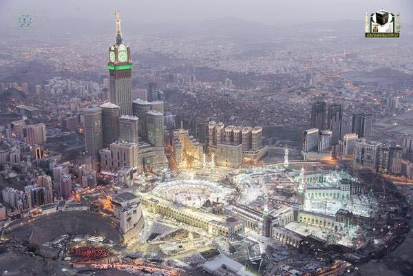 جوية للمسجد الحرام 7