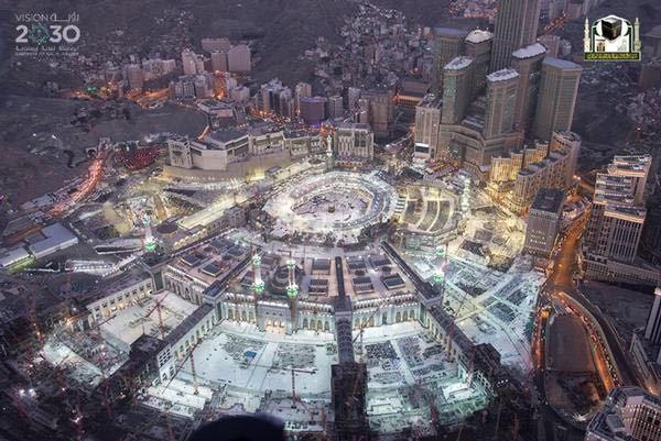 جوية للمسجد الحرام 8