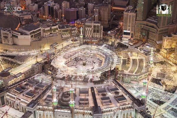 جوية للمسجد الحرام 9