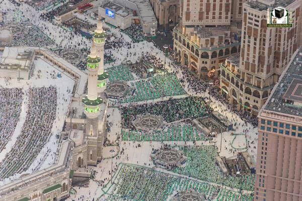 جوية للمسجد الحرام