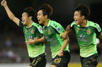جيونبوك الكوري يسقط ويفشل في التأهل المبكر للأدوار الإقصائية بأبطال آسيا - المواطن