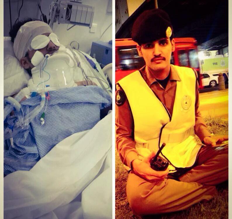 حادثة دهس تتسبب في كسر مضاعف ونزيف للجندي اليامي (2)