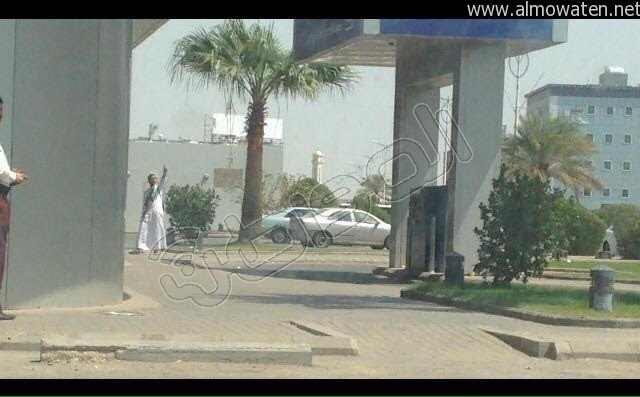 حادثة مسلح يهاجم بنك الراجحي 2
