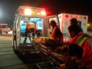 حادث-اسعاف