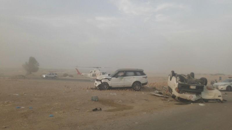حادث-بطريق-بنبان-الرياض