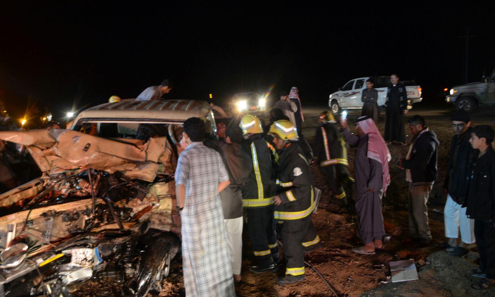 حادث تصادم بالجوف (2)