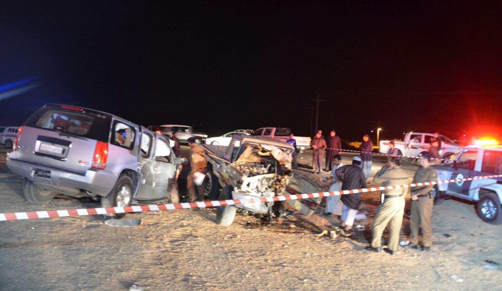 حادث تصادم بالجوف (3)