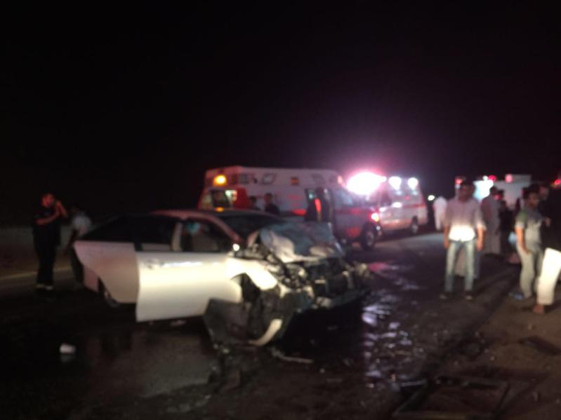 حادث تصادم بالمدينة المنورة (1)