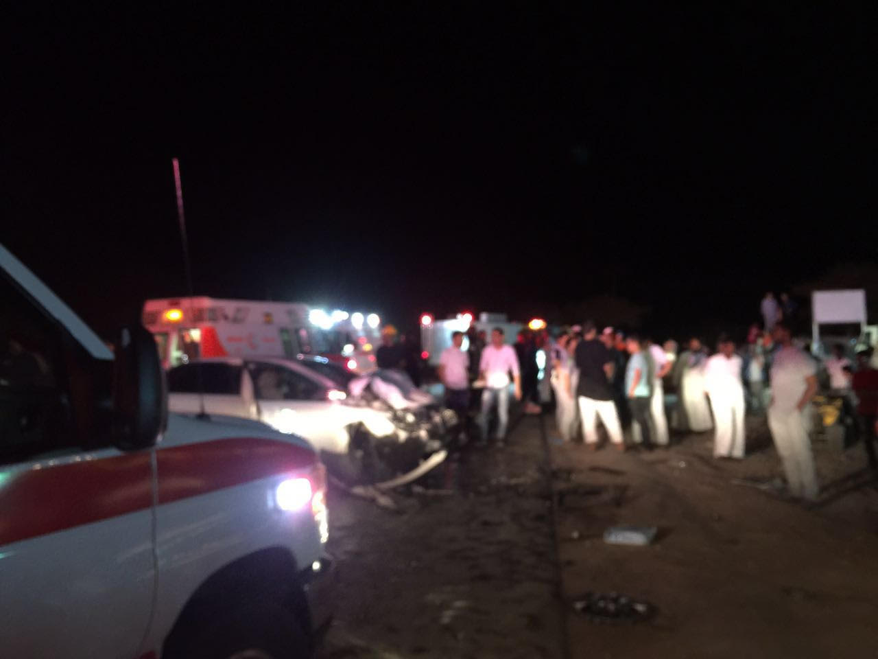 حادث تصادم بالمدينة المنورة (3)