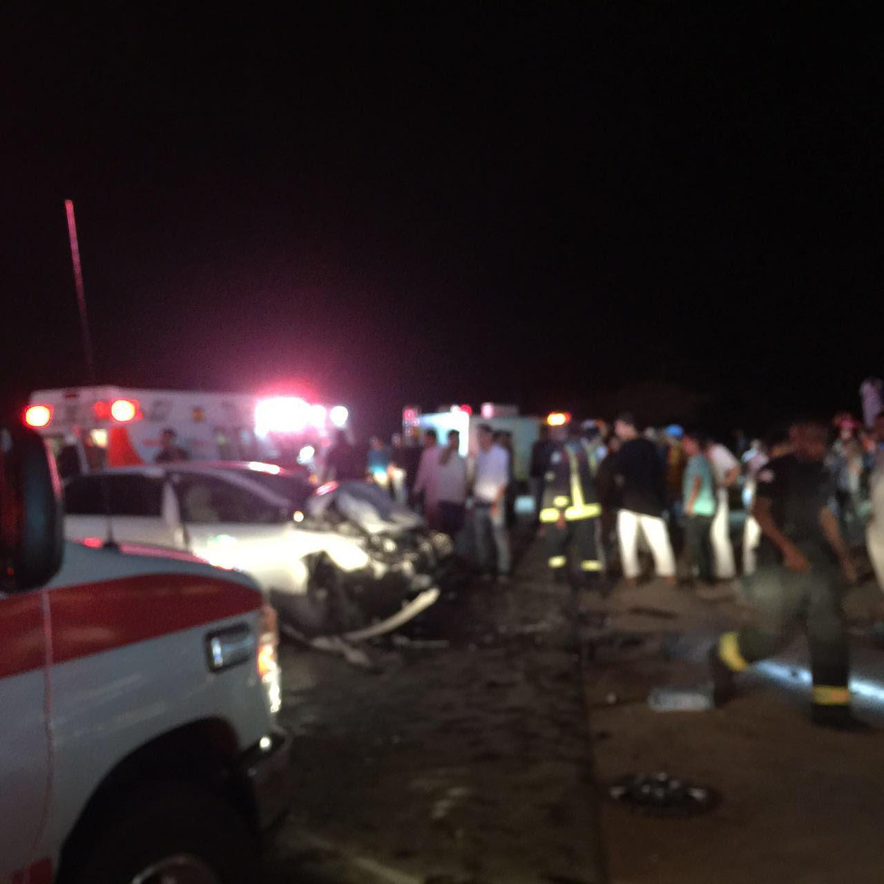 حادث تصادم بالمدينة المنورة (4)