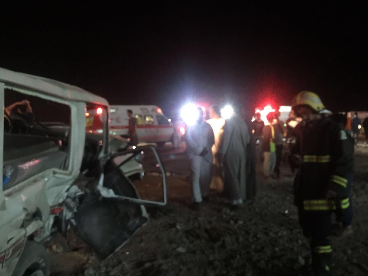 حادث تصادم بالمدينة المنورة (5)