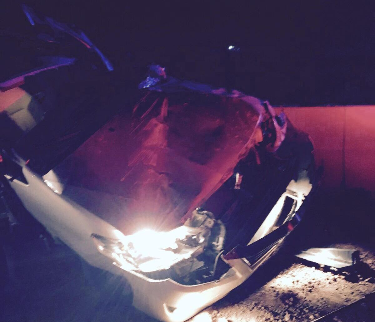 حادث تصادم بالمدينة (3)