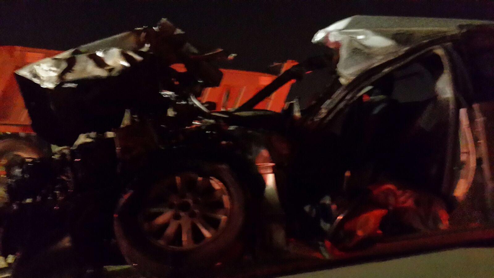 حادث تصادم بجازان (1)