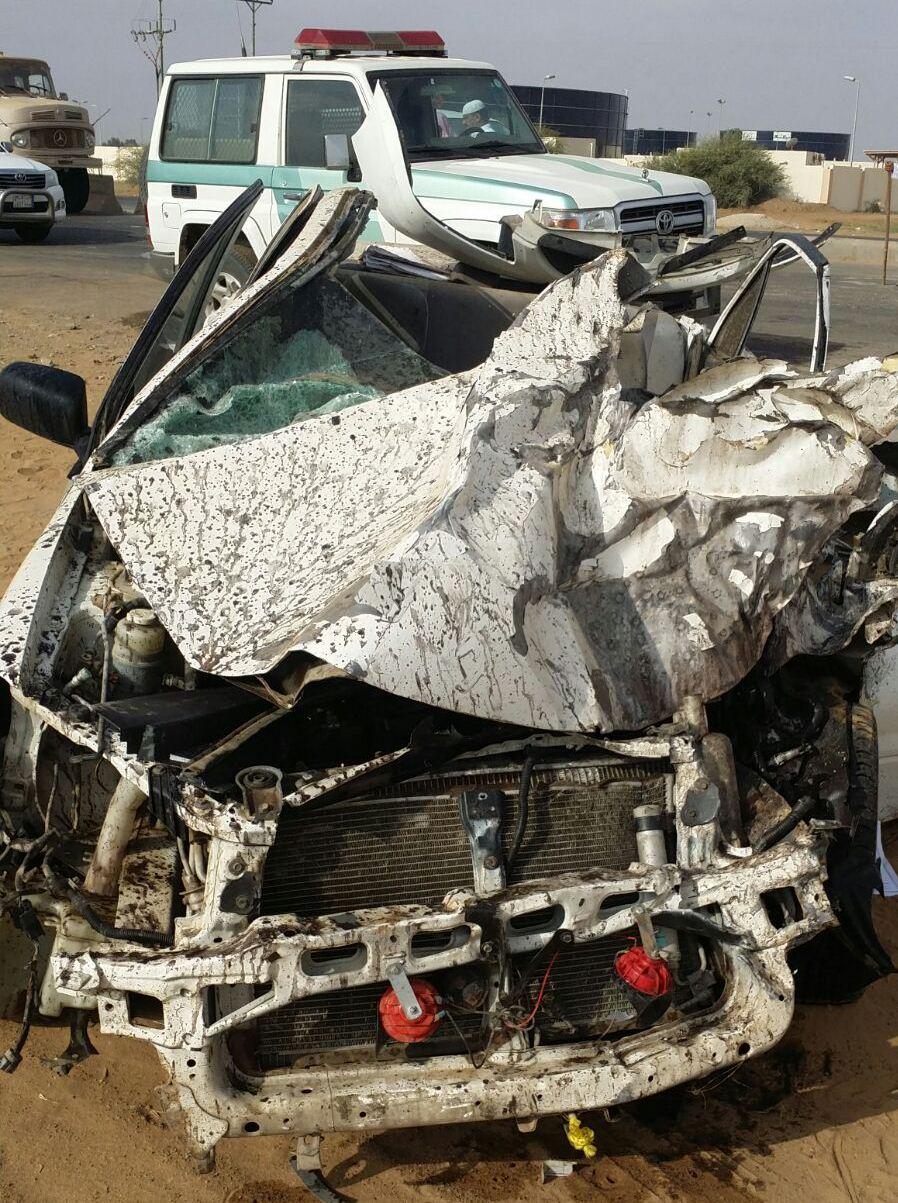 حادث تصادم بجازان (2)