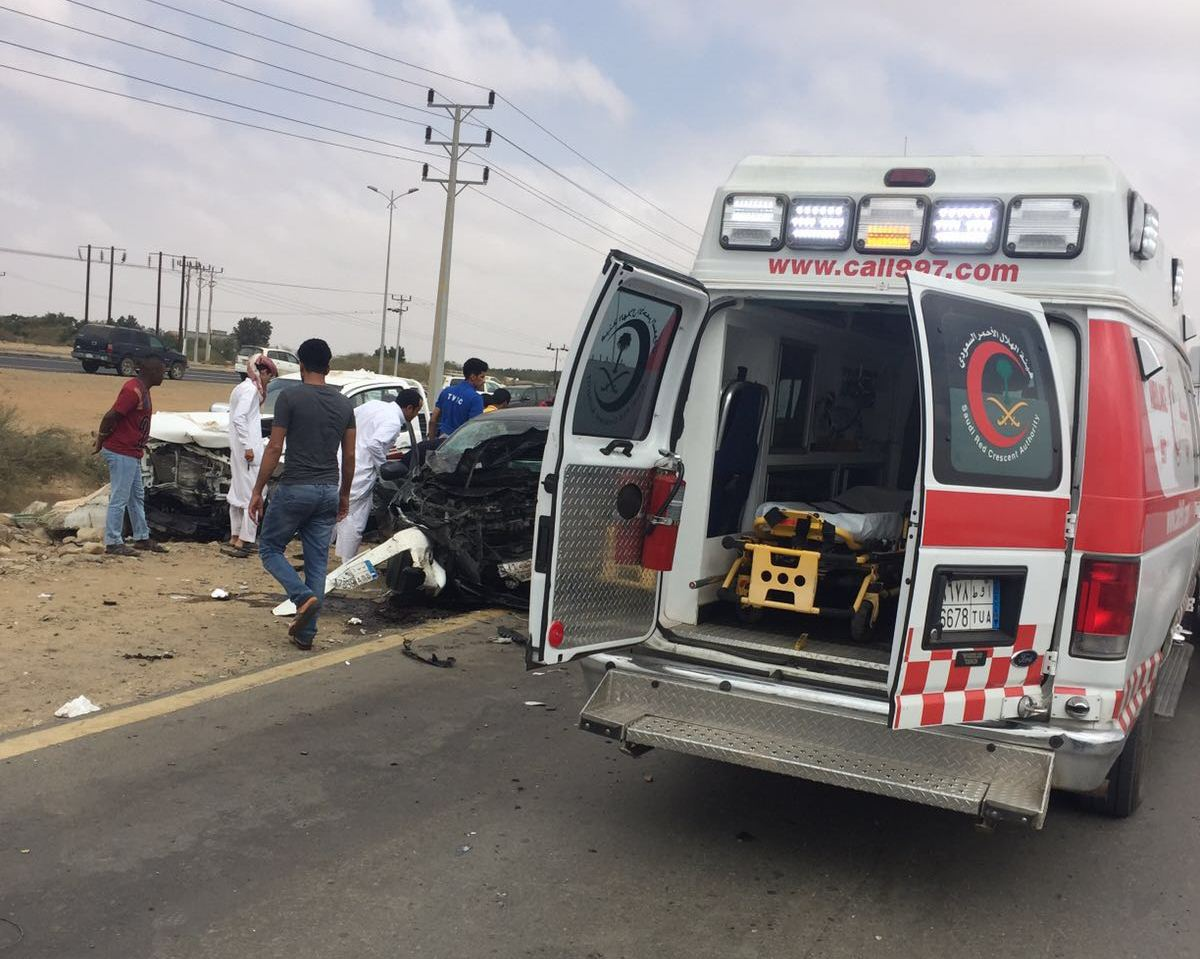 حادث تصادم بجازان (4)