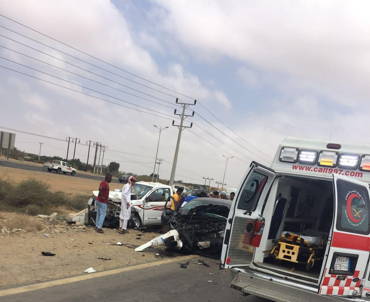 حادث تصادم بجازان (5)