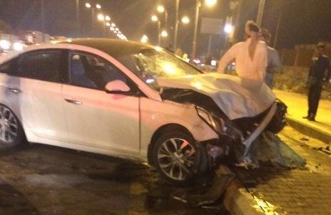 حادث تصادم بدولي جازان (2)