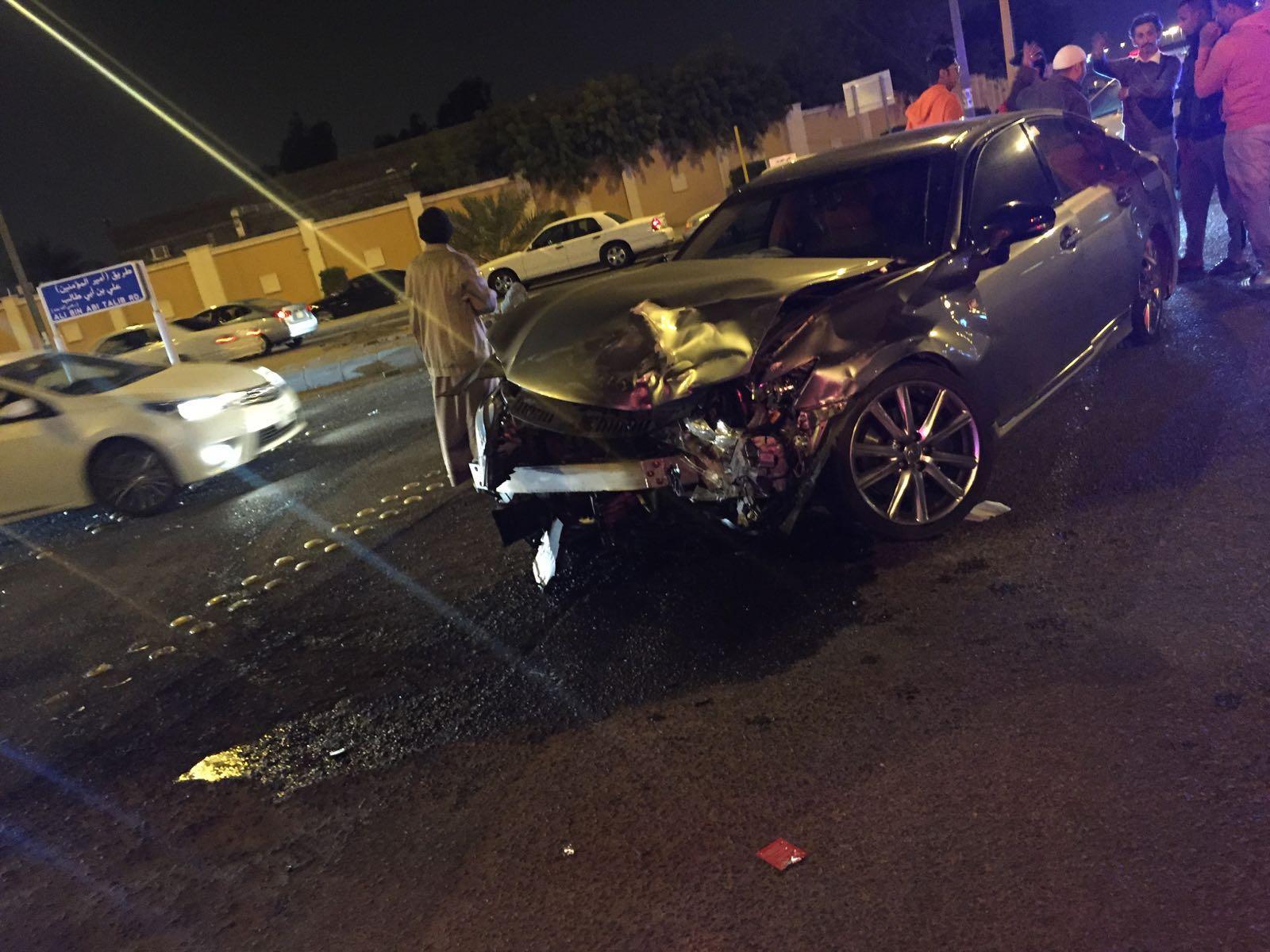 حادث تصادم بطريق الهجرة (7)
