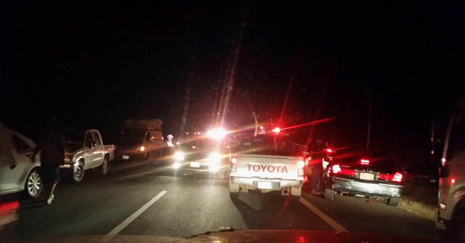 حادث تصادم بطريق صبيا العيدابي (1)