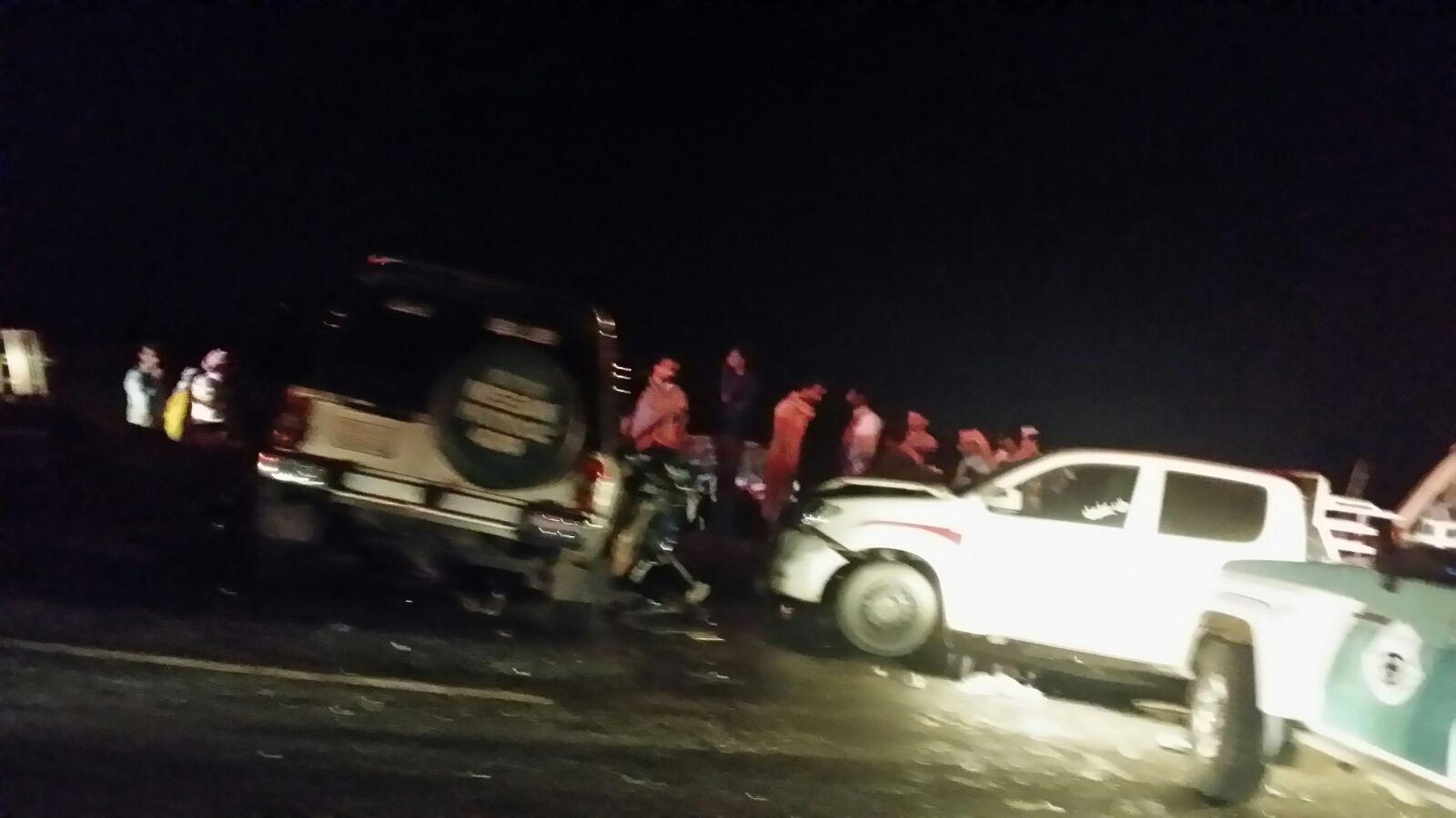 حادث تصادم بطريق صبيا العيدابي (3)