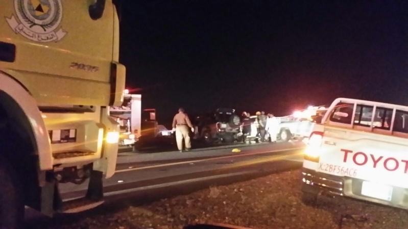 حادث تصادم بطريق صبيا العيدابي (4)