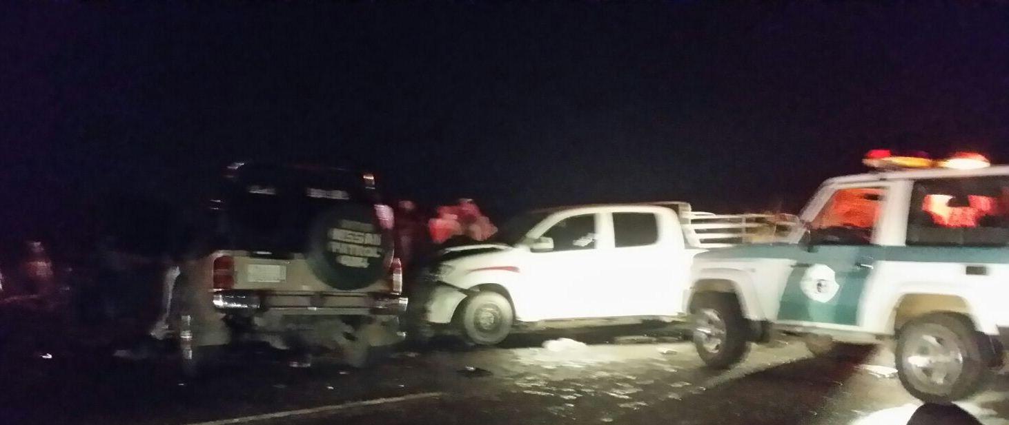حادث تصادم بطريق صبيا العيدابي (5)