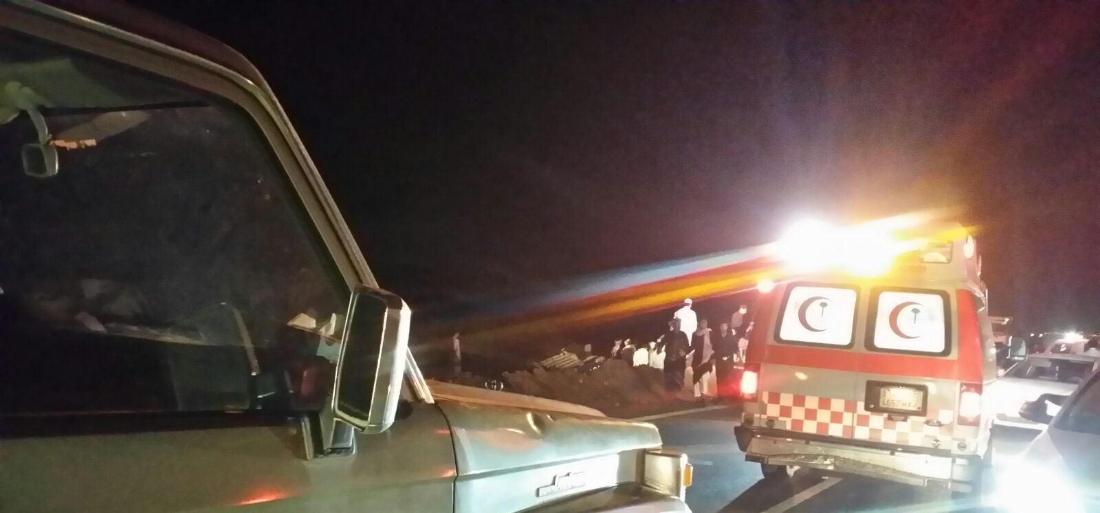 حادث تصادم بطريق صبيا العيدابي (6)