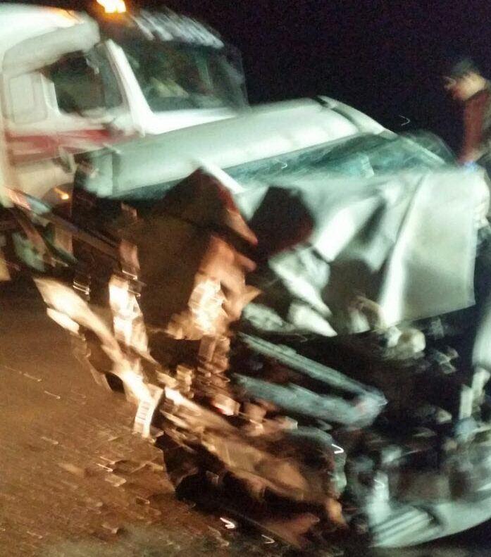 حادث تصادم على طريق عشيرة بالطائف (4)