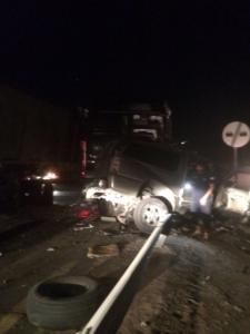 حادث تصادم على طريق ينبع القديم2