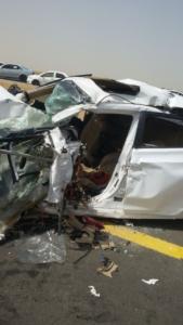 حادث تصادم مروع بدولي جازان (35258881) 