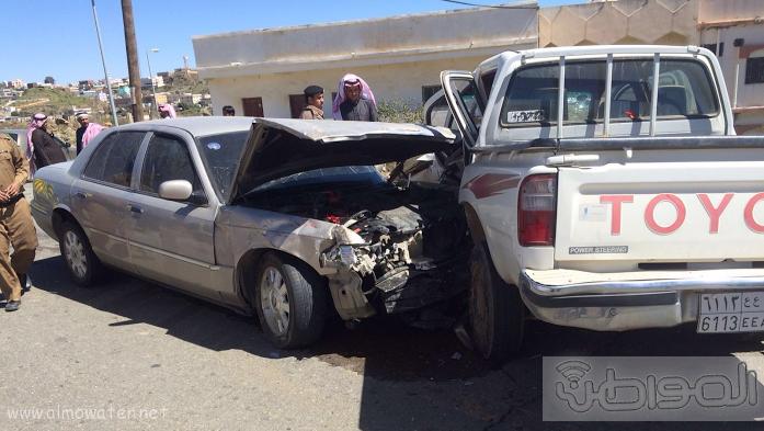 حادث تصادم وفاة معلمة بمدرسة الملك سعود الثانوية بالباحة