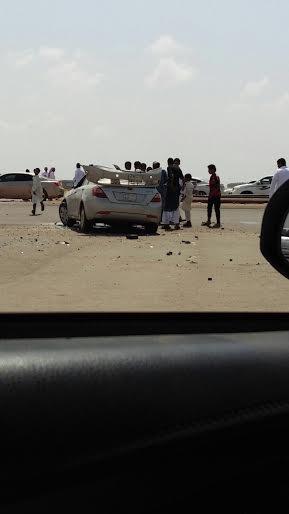 4 إصابات خطيرة في تصادم وانقلاب 3 مركبات بـ #جازان - المواطن