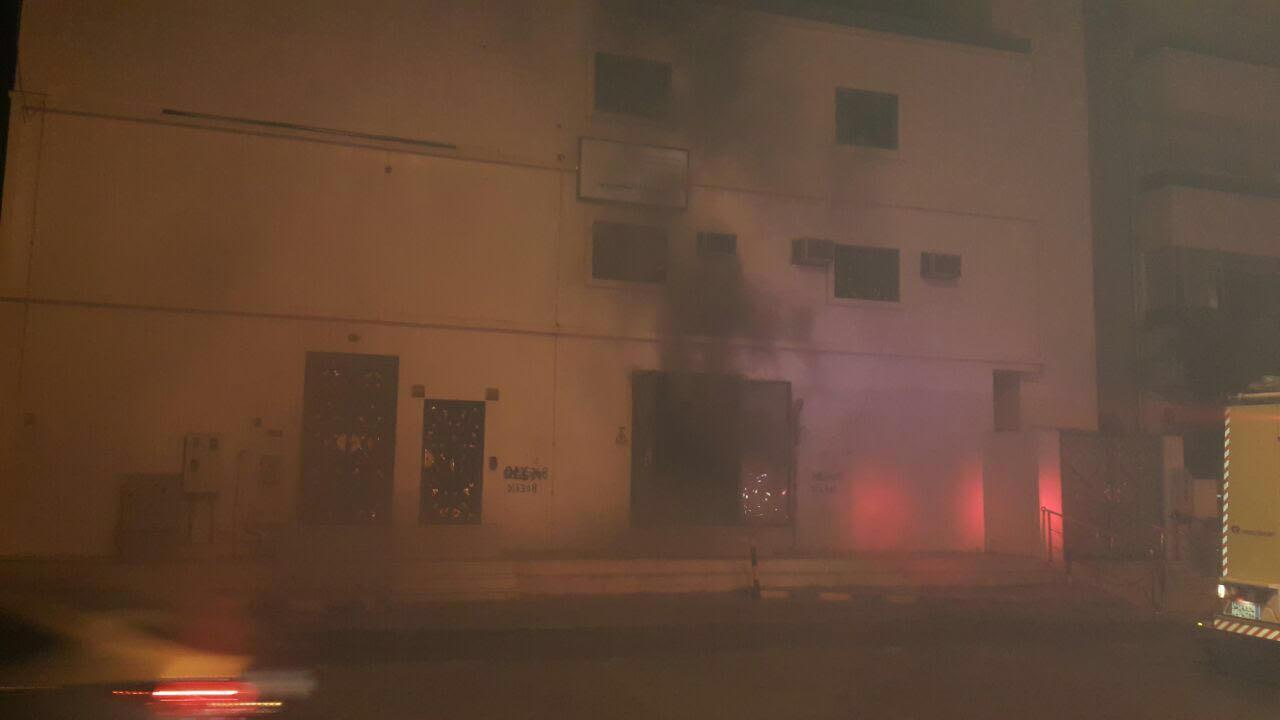 حادث حريق محطة كهرباء العنبرية بالمدينة المنورة  (4)