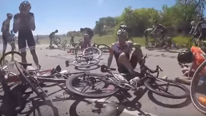 حادث سباق دراجات