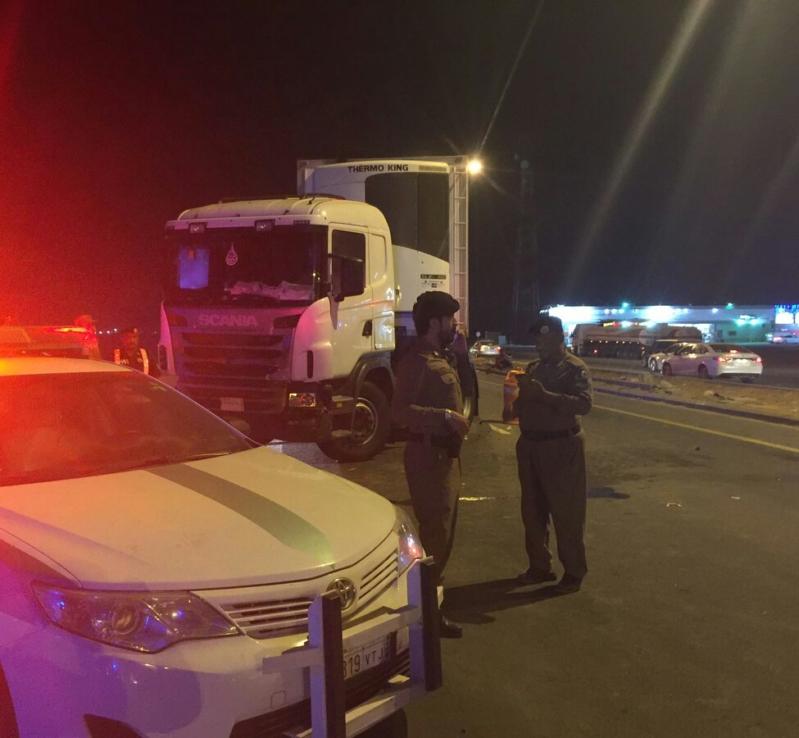 حادث شاحنة بجازان2