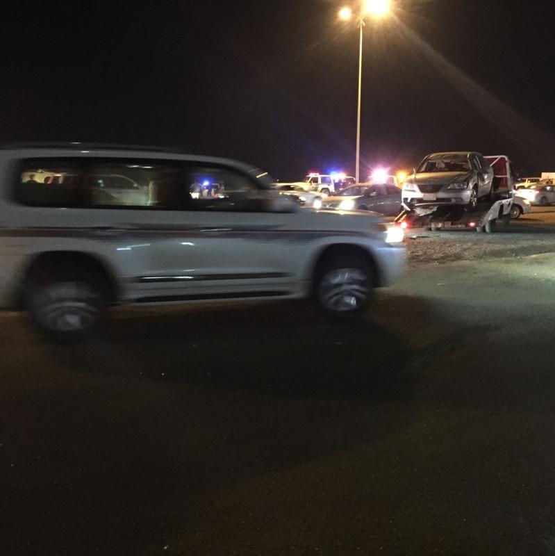 حادث شاحنة بجازان6