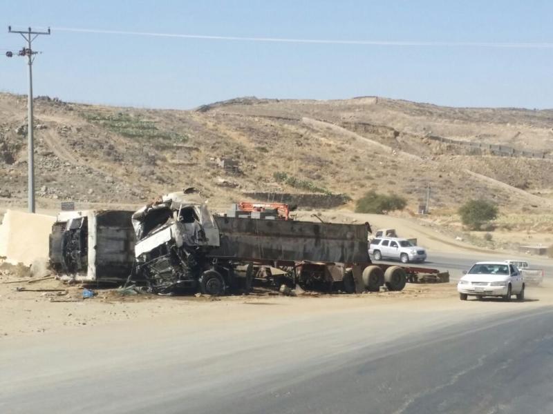 حادث شاحنة (2)