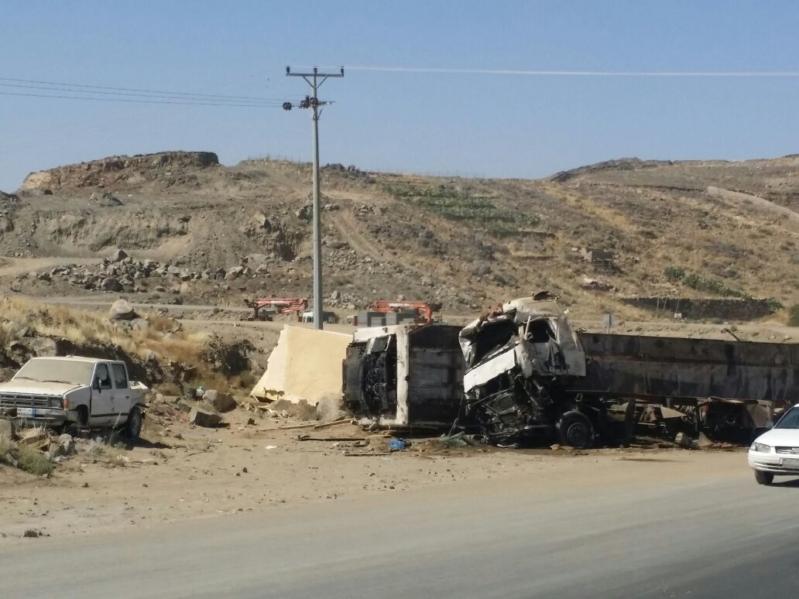 حادث شاحنة (3)