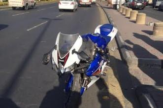 وفاة قائد دراجة اصطدم بعمود إنارة على طريق وج #الطائف - المواطن