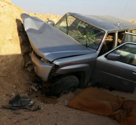 حادث في ام رضمة (1)