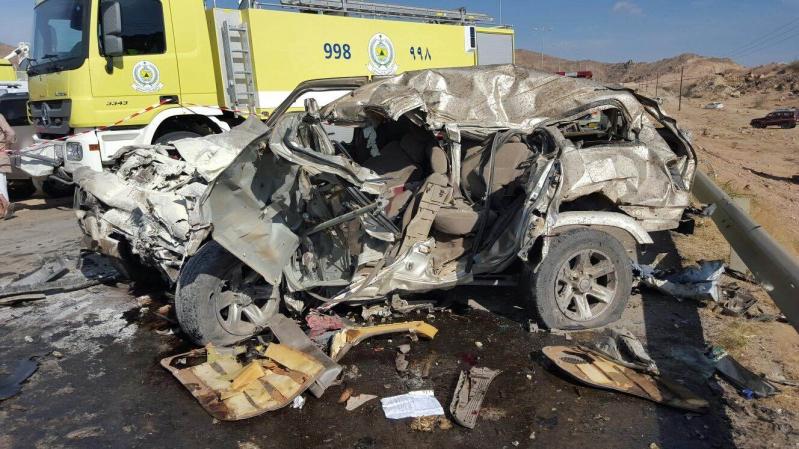 حادث مروري بسراة عبيدة (1)