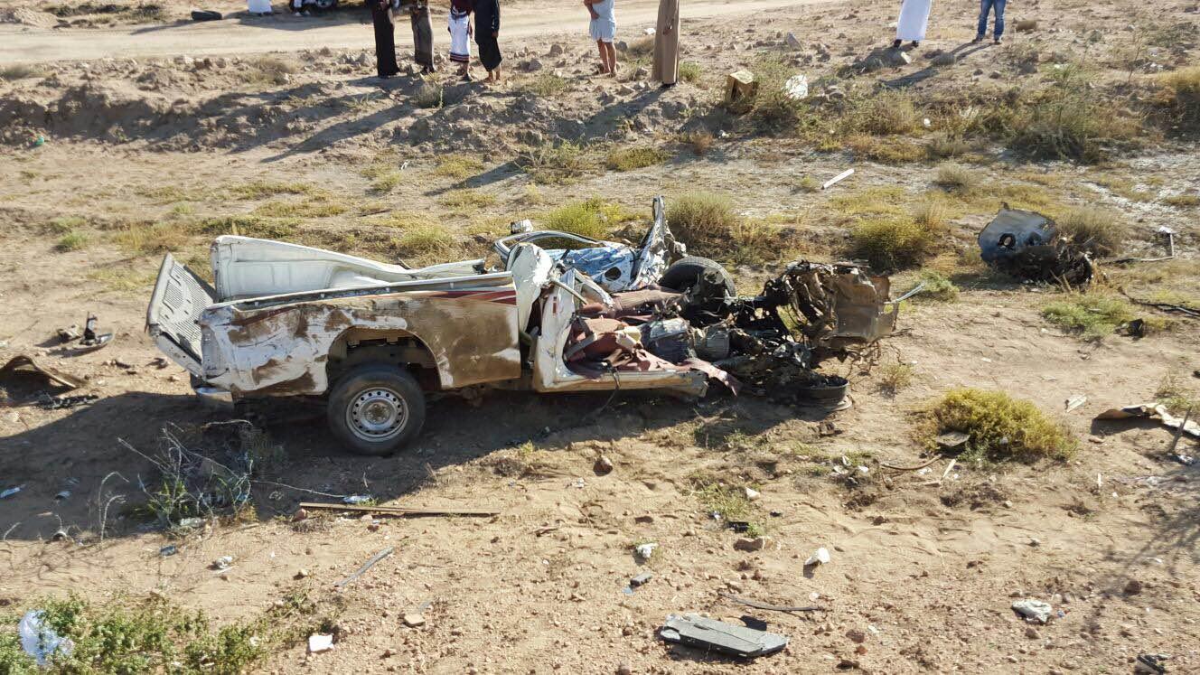 حادث مروري بسراة عبيدة (5)