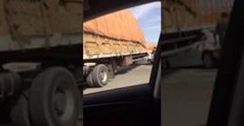 حادث مروع لسيارة في السعودية
