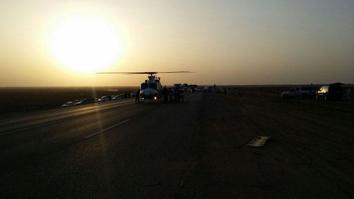 حادث مروع يتسبب بحالات وفاة وعدة إصابات بـ #بريدة (6)
