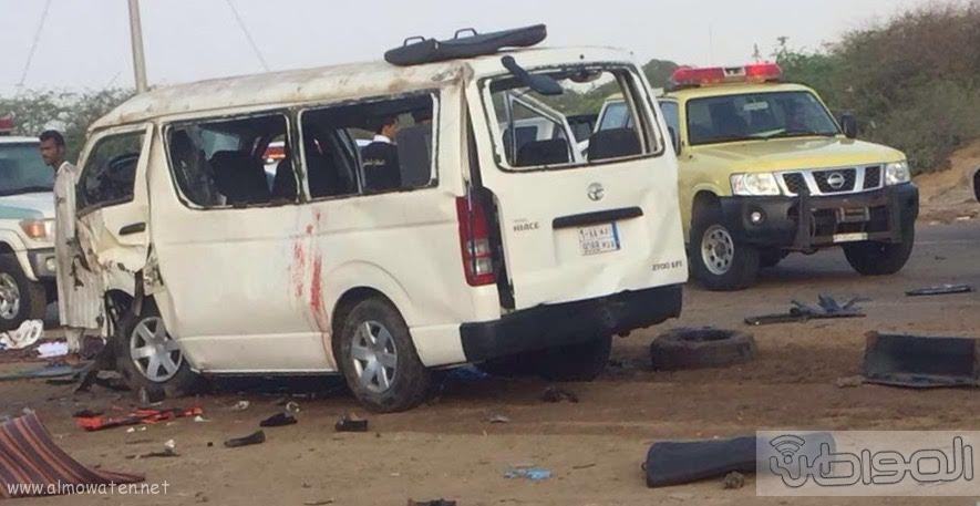 حادث مروع يصيب معلمات بالقنفذة (1)