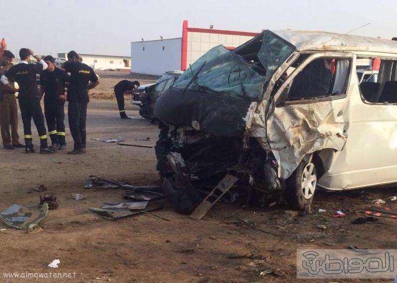 حادث مروع يصيب معلمات بالقنفذة  (2)