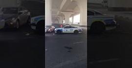 شاهد.. سيارة لمبورجيني تتعرض لحادث مروع في مطاردة مع الشرطة بالكويت - المواطن